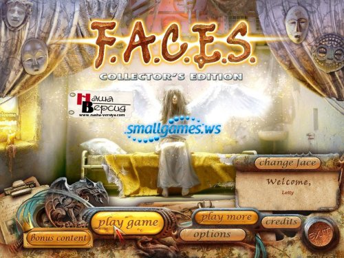 F.A.C.E.S Collectors Edition (русская версия)