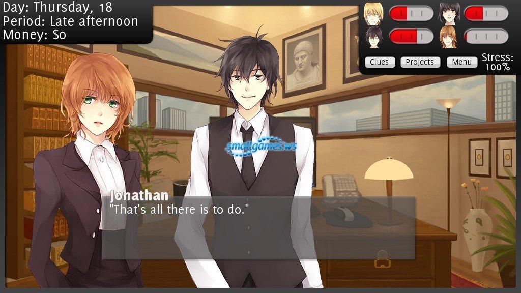 Boy dating sim