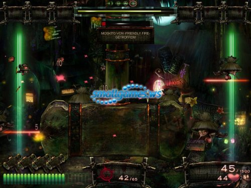 Jungle Shooter - Mosquito Attack from Zombie Island