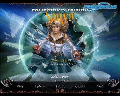 Sonya - Collectors Edition