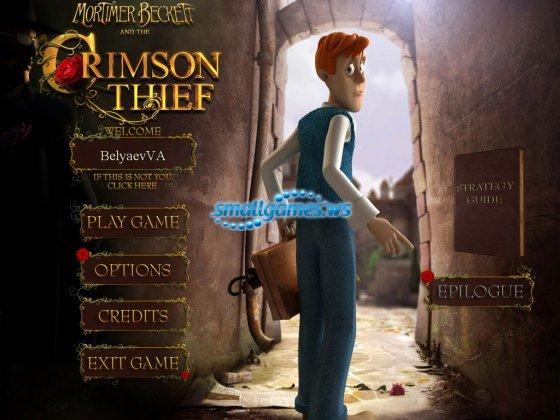 mortimer beckett and the crimson thief premium edition