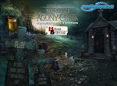 Cursed Memories: The Secret of Agony Creek Collectors Edition (русская верс ...