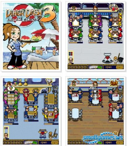 Diner Dash 3 Deluxe Edition Java