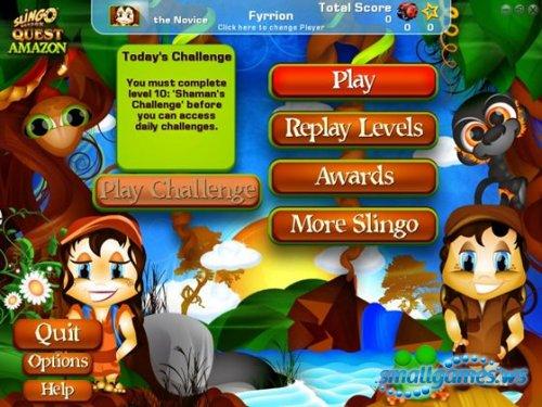 Slingo Quest Amazon