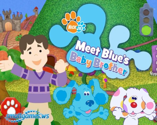 Blues Clues: Meet Blues Baby Brother