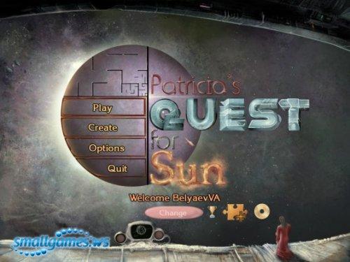 Patricias Quest for Sun