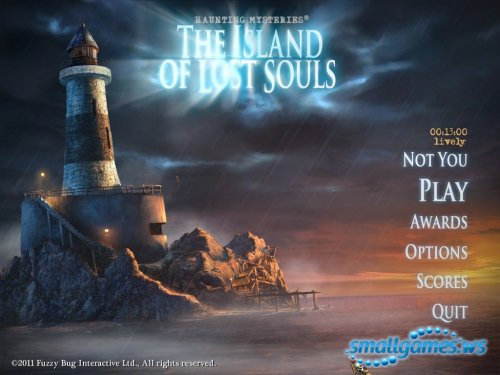 Haunting Mysteries: The Island of Lost Souls Collectors Edition