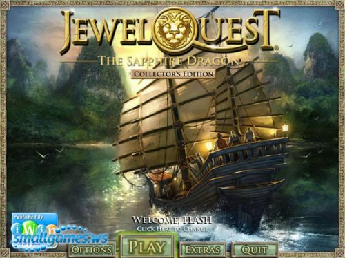 Jewel Quest. The Sapphire Dragon. Collector's Edition