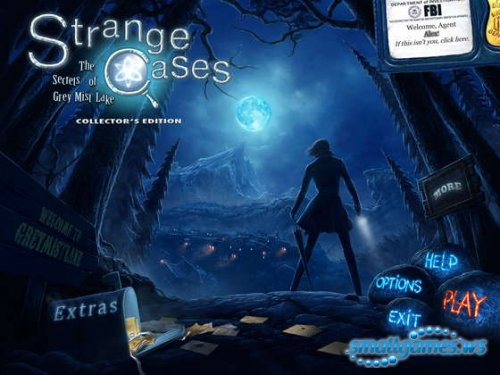 Strange Cases 3: The Secrets of Grey Mist Lake Collectors Edition