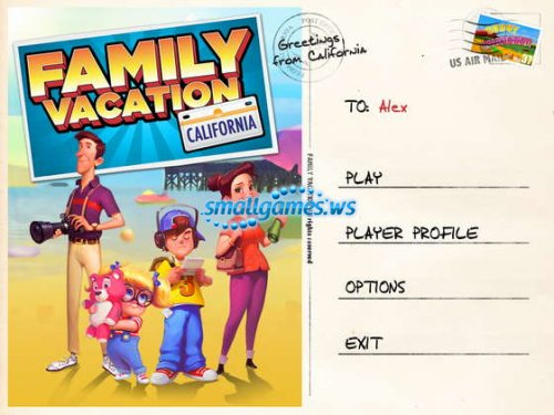 Family Vacation: California