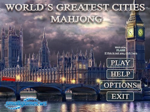 World's Greatest Cities: Mahjong
