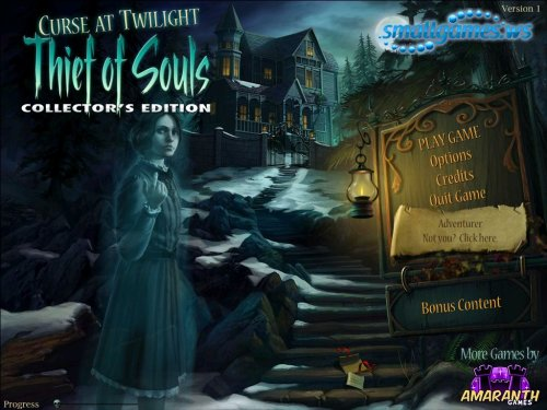 Curse at Twilight: Thief of Souls Collectors Edition
