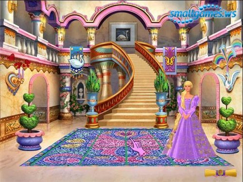 Барби Принцесса Рапунцель.
