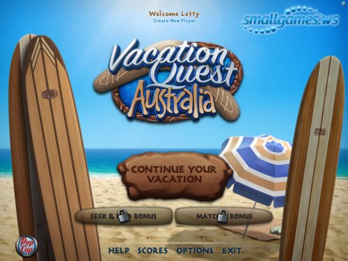 Vacation Quest 2: Australia