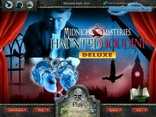 Midnight Mysteries 4: Haunted Houdini Deluxe