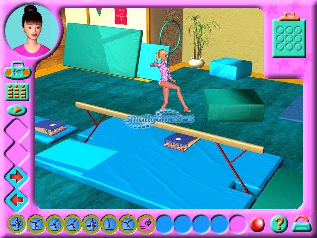 Игры Барби Спортивная Гимнастика