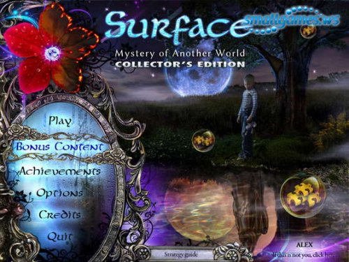 Surface: Mystery of Another World Collectors Edition