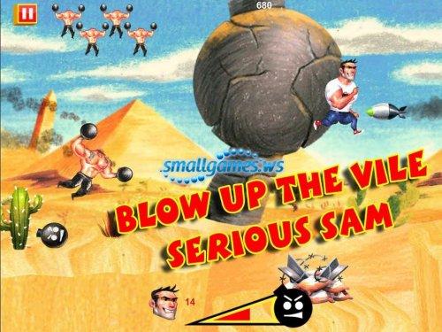 Serious Sam. Kamikaze Attack