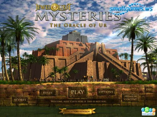 Jewel Quest Mysteries 4: The Oracle of Ur Collectors Edition