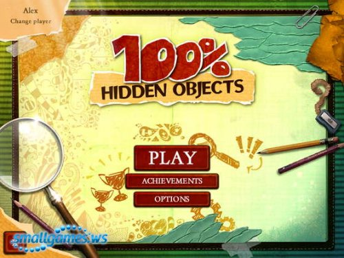 100 Percent Hidden Objects