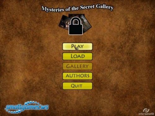 Mysteries Of The Secret Gallery