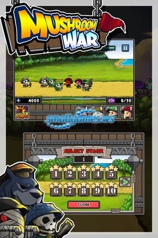 Mushroom War (2011/ENG/Android)