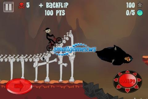 Stickman BMX Pro (2012/ENG/Android)
