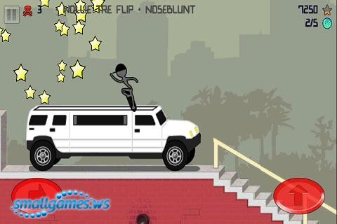 Stickman Skater Pro (2012/ENG/Android)