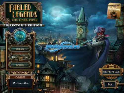 Fabled Legends: The Dark Piper Collectors Edition