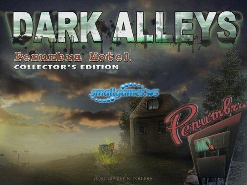 Dark Alleys: Penumbra Motel Collectors Edition