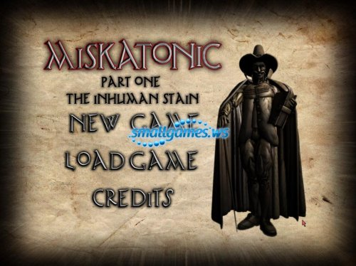 Miskatonic Part 1: The Inhuman Stain