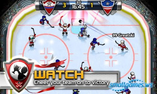 Big Win Hockey (2012/ENG/Android)