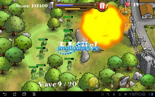 Magic Defenders HD (2012/ENG/Android)