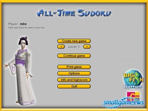 All Time Sudoku