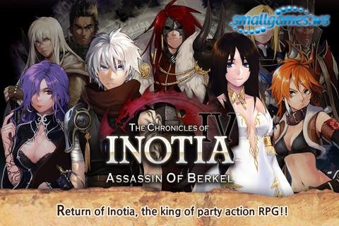 Inotia 4: Assassin of Berkel (2012/ENG/Android)