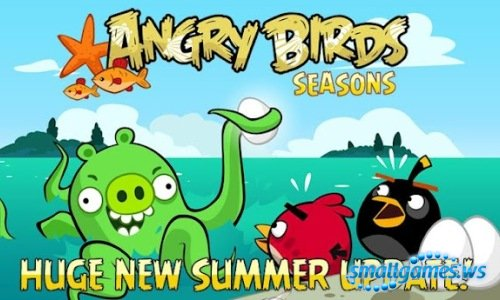 Angry Birds Seasons 2.4.0 (2012/Android/ENG)