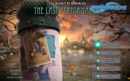 Agency of Anomalies 3: The Last Performance