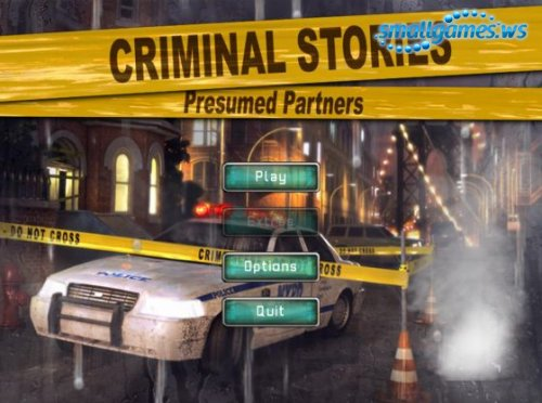Criminal Stories: Presumed Partners