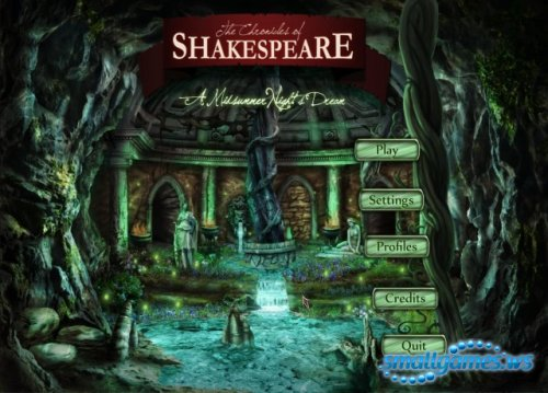 The Chronicles of Shakespeare: A Midsummer Nights Dream