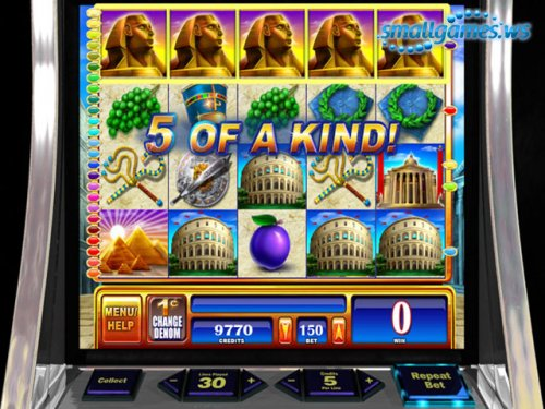 WMS Slots Rome and Egypt