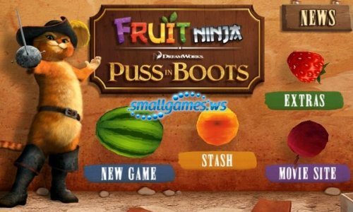 Fruit Ninja: Puss in Boots (2012)