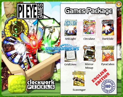 Pi Eye Games Package 7+7