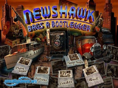 Newshawk Bags A Bootlegger