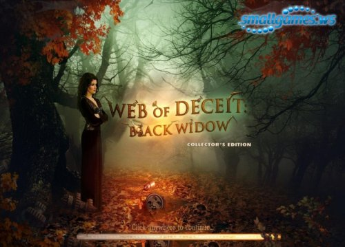 Web of Deceit: Black Widow Collectors Edition