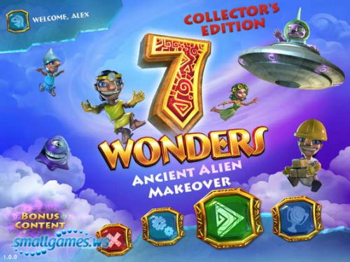 7 Wonders V: Ancient Alien Makeover Collectors Edition