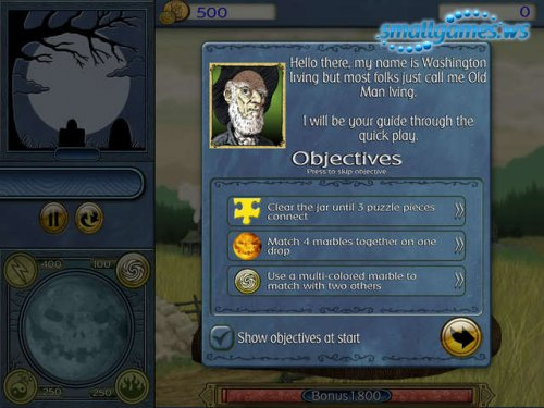 Jar of Marbles III: The Legend of Sleepy Hollow