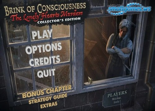 Brink of Consciousness: The Lonely Hearts Murders Collectors Edition