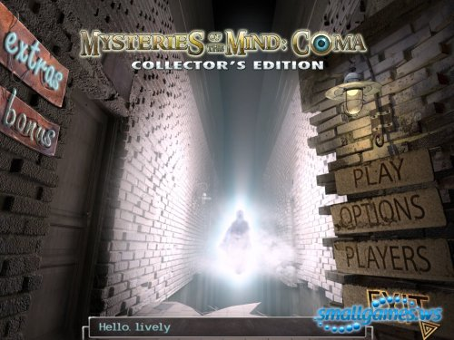 Mysteries of the Mind: Coma Collectors Edition