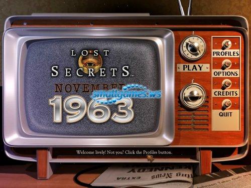 Lost Secrets: November 1963