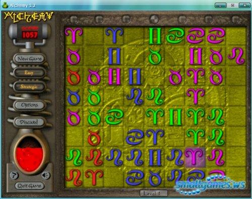 Alchemy - забавная игра головоломка